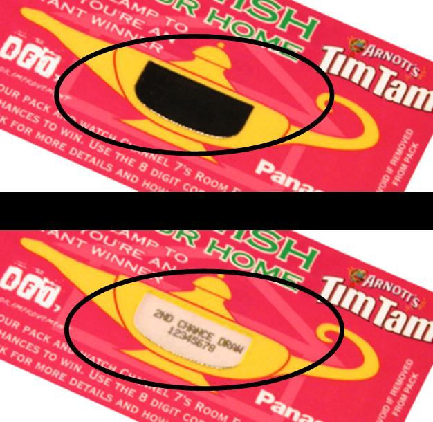 Tim Tam unique codes