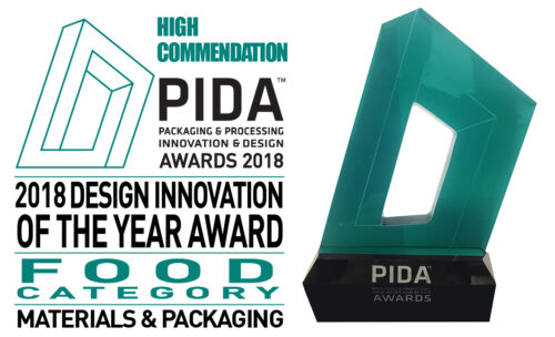 High commendation awarded to Grape n' Go for its reclosable packaging at the 2018 PIDA Awards