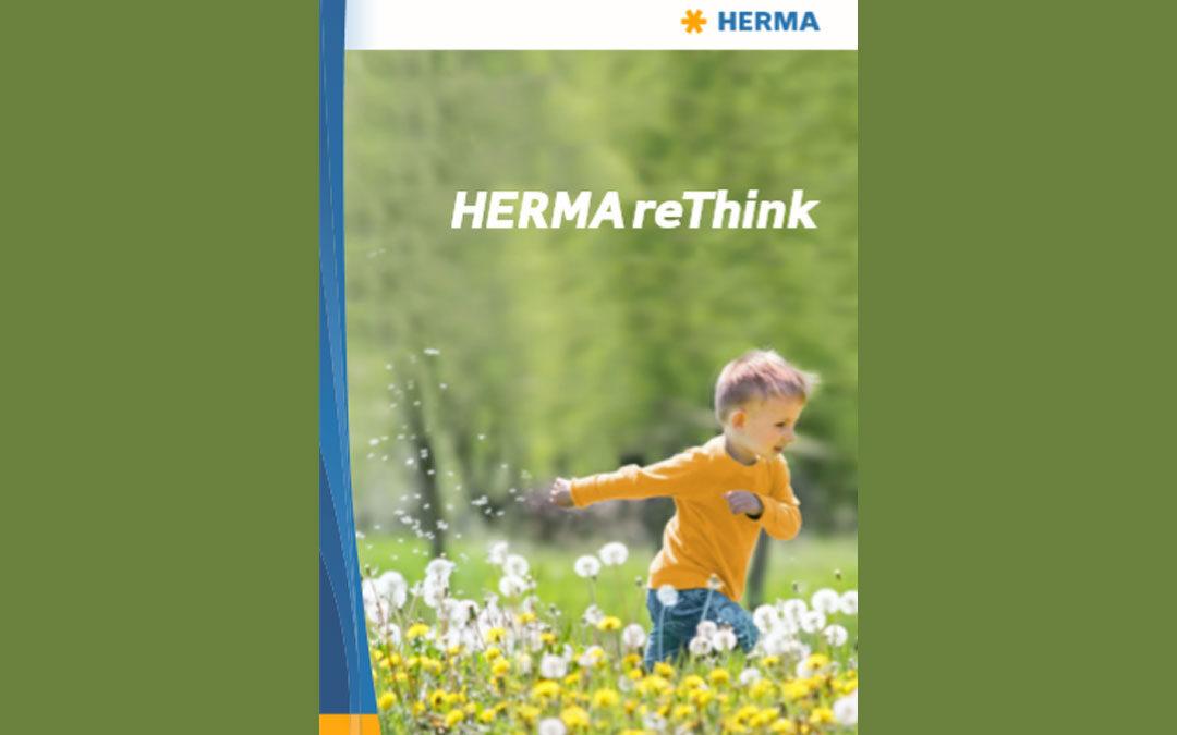 HERMA Self Adhesive Materials: Recycle, Reduce, Reuse