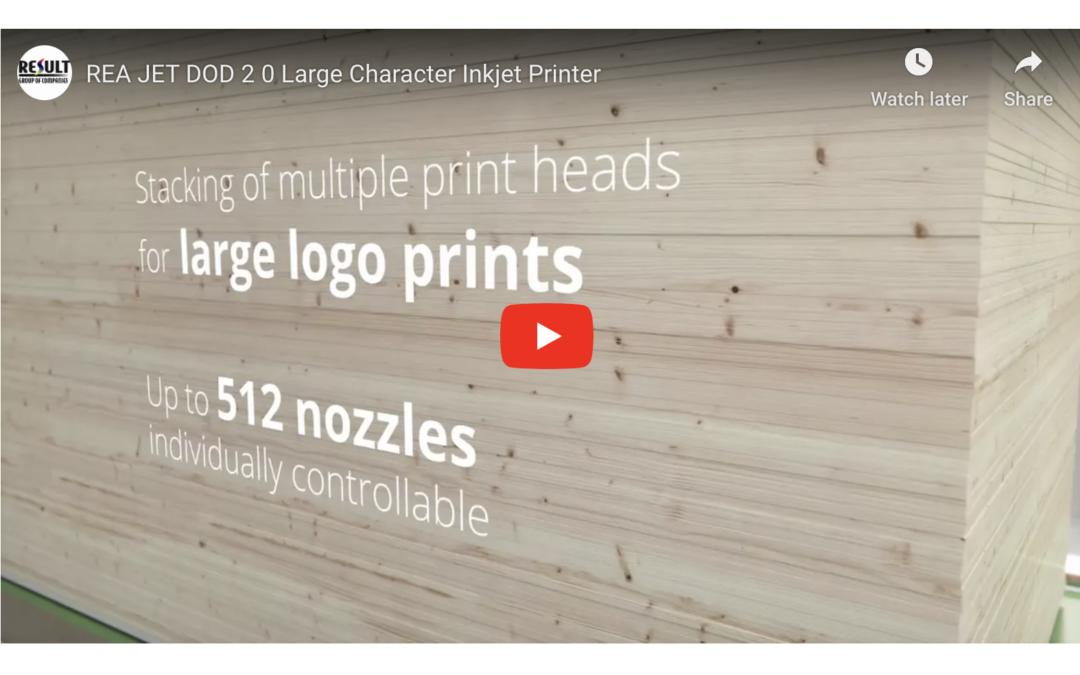 REA JET DOD 2 0 Large Character Inkjet Printer