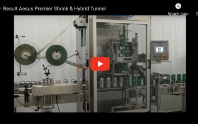 Aesus Hybrid Heat Tunnel With Integrated Steam Generator